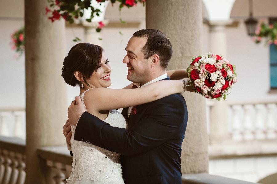 Zdjęcia ślubne na moście