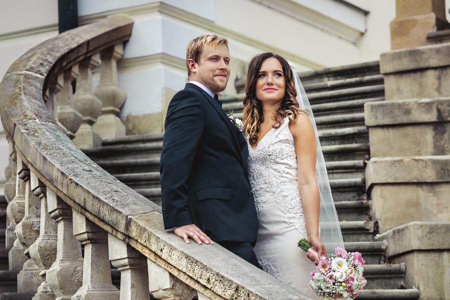 Zdjęcia z sesji poślubnej w Pałacu Radziwiłłów pod Krakowem