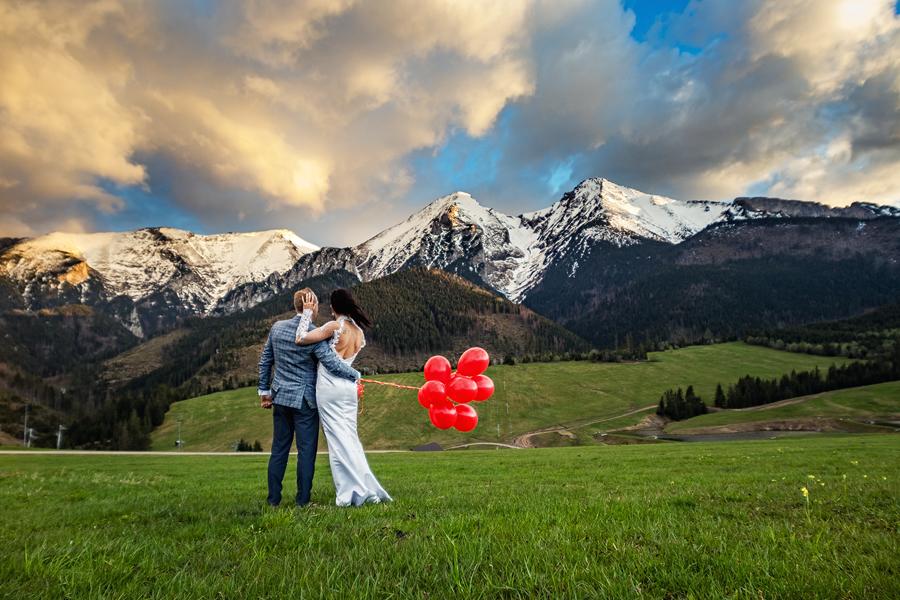 Sejsa poślubna w Tatrach Słowackich