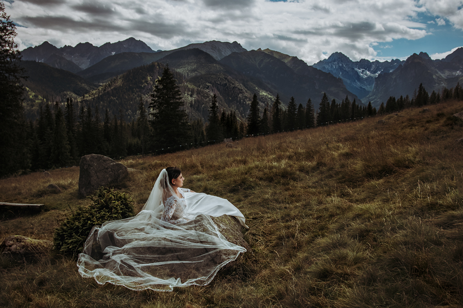 tatrzańska sesja ślubna